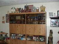 Three Piece Entertainment Wall Unit...center section of