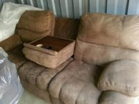 !! Sofa and recliners with Wedge-- All 3 pieces just