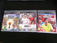 Type: Games Type: Sports Three PS3 sports games, each