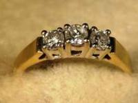 Stock #277 $325.00 Like three stone rings??? We are