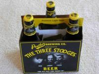3 Stooges beer bottles ($10 ea.) + one 6 pack carton