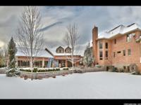 Throughout this nine bedroom, 10 bathroom home, classic