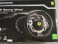 Up for grabs is a USED Thrustmaster Ferrari 458 TX