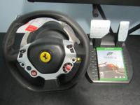 I have for sale a Thrustmaster TX Racing Wheel Ferrari