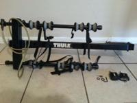 Selling my Thule 4 Bike Hitch Mounted Bike Rack. Fits