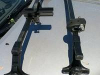 Thule Rack with 50 Inch Bars and # 300 Towers and 01