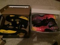 I have a pair of thunder 4s Sz 9.5 and a pair of