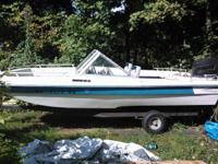 I have a thundercraft blue and white tri hull bow rider