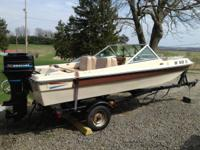 1982 Thundercraft Titan 150C. 15 ft w/ 50HP mercury,