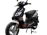 FamilyGoKarts has a black Tao Tao Thunder 49cc scooter