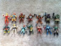Collection of vintage 1980's Thundercats
