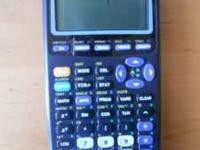 TI-83 Plus graphing calculator Works well. Cover