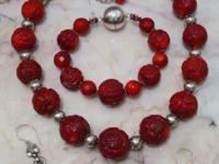 STUNNING BEADS! Beautiful Handmade Semiprecious beaded