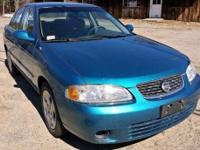 Ticket to Ride, 2003 Nissan Sentra GXE. Only 41,000