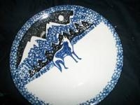 Folk Craft Tienshan WOLF Dinner Plate (S) 10.5inch
