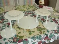 I have a Wilton tiered cake stand with 7 disks and 6