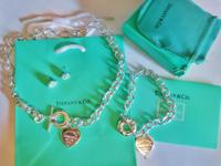 I have a Tiffany and Co. Necklace, Braclet, and Earring