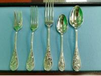 I have a set of Tiffany Audubon Sterling silver