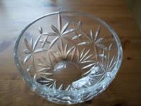 Great looking crystal bowl in mint condition. Call