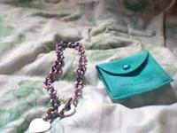 Tiffany &Co. Heart tag necklace, toggle chain, great
