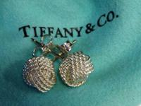 Tiffany & Co. Sterling Silver Somerset Mesh Knot