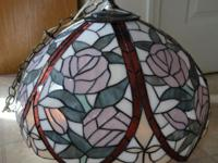 I have a gorgeous Tiffany lamp that could be used for