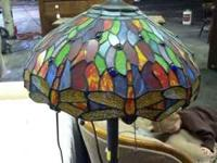 Tiffany style floor lamp $120  call or text Location: