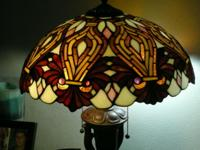 Very attractive lamp. Can use in living room, bedroom,