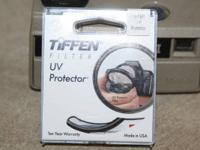 Like new Tiffen 58mm UV Proctector filter in original