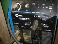220V Miller Syncrowave 180 SD , CC. ac/dc Tig Stick