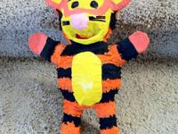 "Tigger Pinata New 13"" Excellent Display or Use for a"