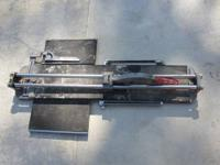 Used Super Pro Two Bar Porcelain Tile Cutter Heavy duty