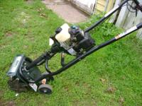 bolens 2 cycle mini tiller used once $125s,7 hp