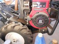 Sears Tiller -5HP Barely used $500.00  Location:
