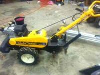 I have two tillers for sale. $500 each. Yellow Club