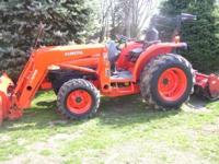 Will till your garden or food plot with Compact Tractor