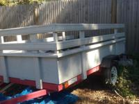 4x8 trailer. Excellent Cond. Wheel jack, Wood floor,