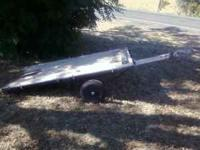 nise trailer made of thick steel used it to haul my