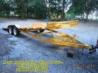 tilt trailer for sale/trade - $3800 (plant city fl)