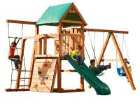 The New Bighorn swing and Play set with Summit slide