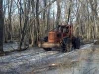 We have an older Timberjack Skidder forsale very nice