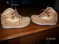 timberland boots size 11 have been worn only a few