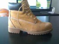 Lightly Used Pair of Timberland Pro Boots (Steel Toe)