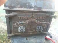 Timberline airtight wood stove approx. 3x3 Moving out
