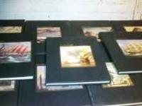 Collection of 17 books on nautical history. All books