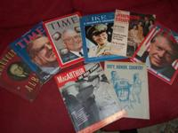 Vintage time magazines of the presidents from 1930
