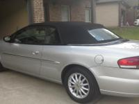 2002 Chrysler Sebring Convertible LXI-: **Cash or
