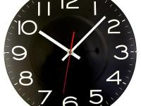Hang the Timekeeper Products LLC 11-1/2 in. Black Wall