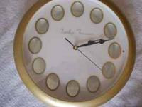Timeless Treasures Clock Picture Cool Collectible +++!