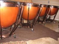 Repaired and Refurbished Ludwig fiberglass set of four
